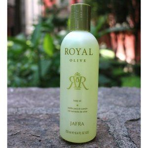 Jafra Royal Olive Body Oil 8.4 oz. New and Sealed